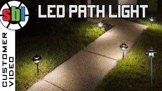 LED Landscape Path Lights  Mini Bollard