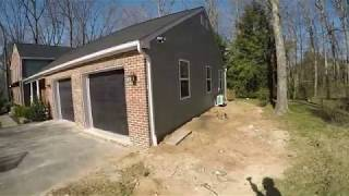 TIME-LAPSE How to build a two garage addition