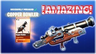 Fortnite PvE : BOWLER - Level Up and Gameplay