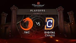 TNC vs Digital Chaos - Lower Bracket - Game 2 - The International 6