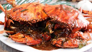 How to cook Authentic Singapore Black Pepper Crab 新加坡黑胡椒螃蟹