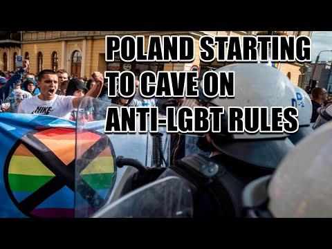 Poland CAVING On Anti-LGBT Zones After EU HALTS Funding!