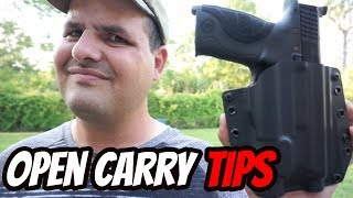 Before You Start Open Carrying a Gun!