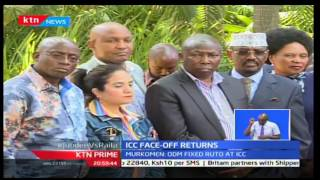 KTN Prime: ICC makes a comeback with Jubilee accusing Raila Odinga of plotting their arrest,14/12/16