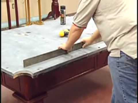 How To Install A Pool Table - Slate Installation - Home Billiards Mp3