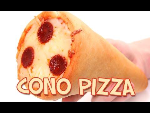 Cono de Pizza | Una manera Original y Diferente de Comer Pizza!!