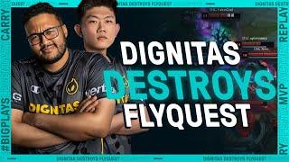 Dignitas duo DESTROYS FlyQuest | League Mixtape
