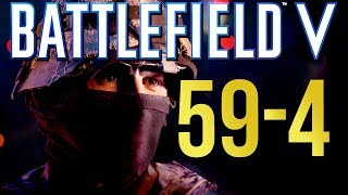 Battlefield 5: 59-4 Tommy is a Beast! (PS4 Pro Multiplayer Gameplay)
