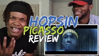 Hopsin   Picasso   REACTIONREVIEW