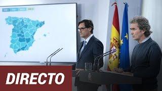 EN DIRECTO   R.p. de Fernando Simón y Salvador Illa para anunciar los cambios de fase