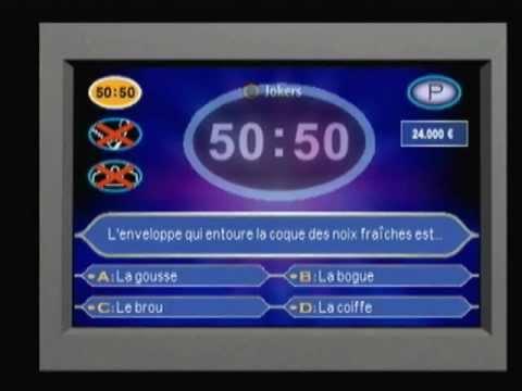 Qui Veut Gagner des Millions Junior Playstation