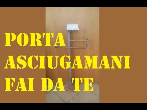 Restyling Porta asciugamani di riciclo Fai da te by Paolo Brada DIY