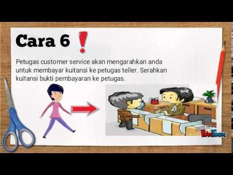 Cara membuka rekening tabungan