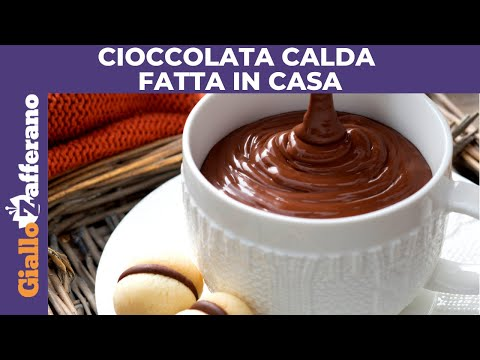 CIOCCOLATA CALDA FATTA IN CASA: facile e veloce