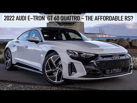 アウディ E-TRON GT 60 クワトロ 2022 のパーフェクト動画