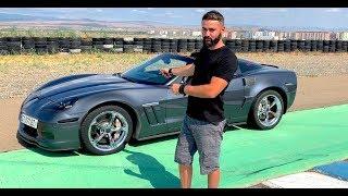უხეში ტესტ დრაივი - Chevy Corvette 6.2 SuperCharger - 700 ცხესნის ძალა, 1 000 ნიუტონი!!!