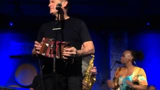 """I call your name"" - Johnny Clegg - City Winery April 8 2014"