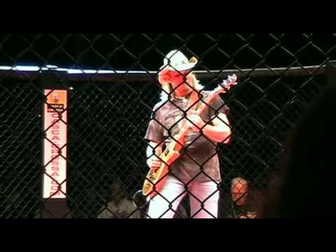 Stevie Wayne Taylor National Anthem MMA Fight