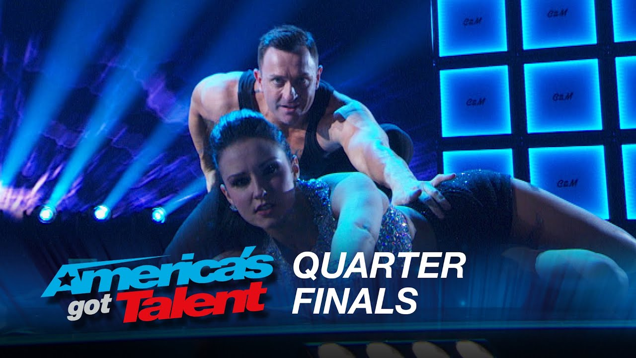 Craig & Micheline: Exhibition Showdance Duo Show Off Their Superb Skills – America's Got Talent 2015 #AGT