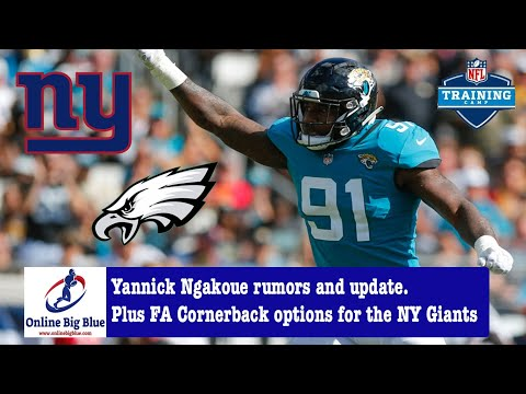 New York Giants Yannick Ngakoue rumors and update.Plus FA Cornerback options for the NY Giants