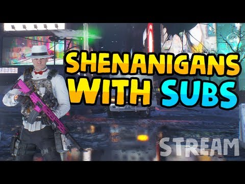 SHENANIGANS WITH SUBSCRIBERS - The Division 1.6.1 Live Stream