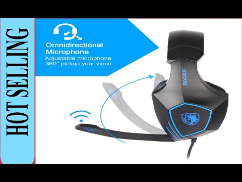 Is It Worth? Sades Gaming Headset For New Xbox One, Ps4, Pc, Noise Reduction Game Earphone, Bass...