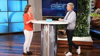 A Phenomenal Surprise for an Ellen Fan