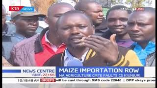 MPs say government should buy maize locally after CS Kiunjuri proposed importation of 12.5M bags