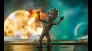 Guardianes De La Galaxia Vol 2 Intro Baby Groot Español Latino