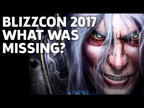 What Was Missing At Blizzcon 2017