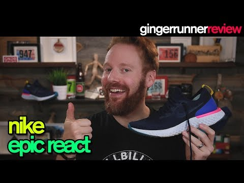NIKE EPIC REACT REVIEW | The Ginger Runner