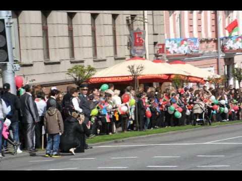 Фото: Шествие 9 мая в Гомеле