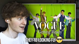 """THEY'RE LOOKING FLY! (BTS (방탄소년단) VMAs """"Dynamite"""" Getting Ready With Vogue   Reaction/Review)"""