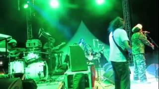 Ras Natty Baby Et Les Riddim Soldiers En Live Au Festival Zakana .Ile Maurice 2015