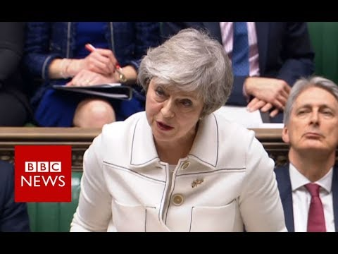 May calls on MPs to give her deal 'second chance' – BBC News