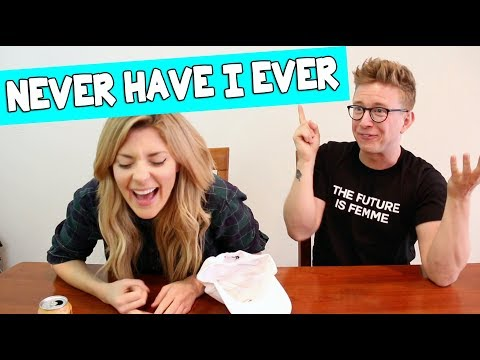 NEVER HAVE I EVER w/ TYLER OAKLEY // Grace Helbig