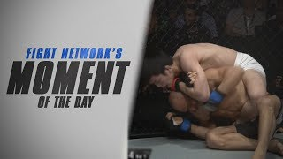 Moment of the Day: Shinya Aoki Makes Kamal Shalorus Tap at ONE: Reign of Champions