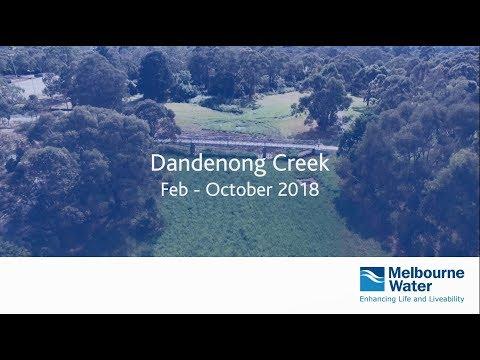 Video of the daylighting of Dandenong Creek