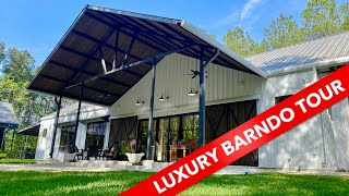Creekhouse Luxury Barndominium Home Tour | Texas Best Construction