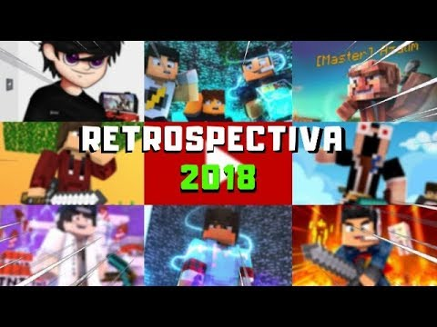 RETROSPECTIVA 2018: Lugin vai ser pai, strikes fakes, processos, fim do HG e tretas - Minecraft