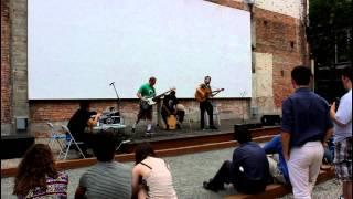 Young Black Lady Bear at Providence Hoot Part 3 (Grant's Block 6-8-2014)