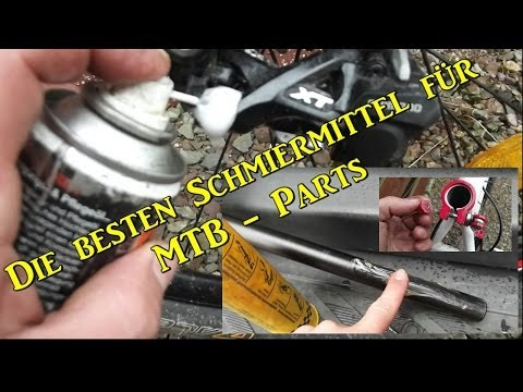Die besten Schmiermittel für MTB Parts
