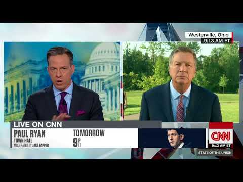 John Kasich: We're rooting for Trump to get it together (Full State of the Union interview)
