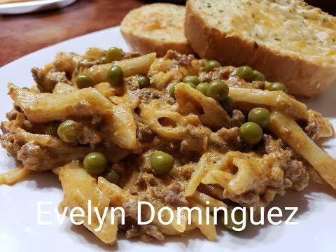 Como hacer una Pasta con Carne y Calabaza Deliciosa