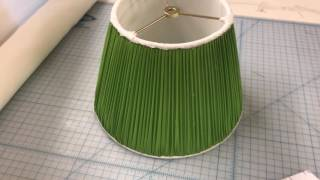 How We Make Our Handsewn Custom Lampshades   Oriental Lamp Shade Company