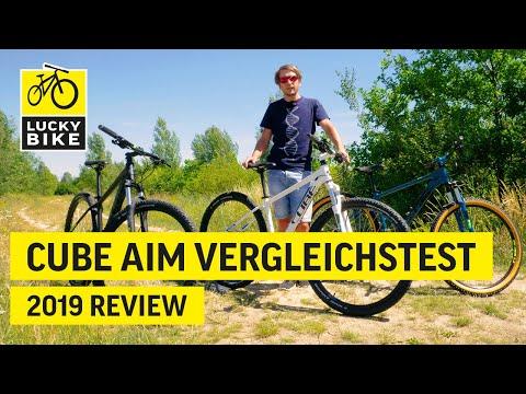CUBE AIM Pro | AIM Race | AIM SL 2019 | Mountainbike Vergleichstest