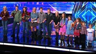 12-osobowe rodzeństwo w amerykańskim Mam Talent