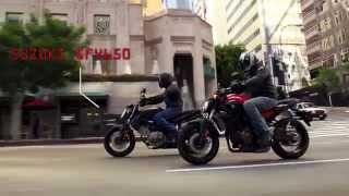 Yamaha FZ-07 vs Suzuki SFV650