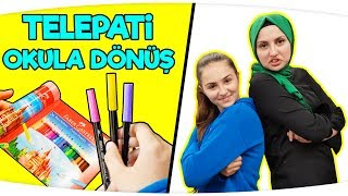 OKULA DONÜŞ TELEPATİ , Back to School | TELEPATİ CHALLENGE Fenomen Tv Okula Dönüş, Kırtasiye