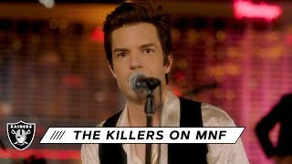 The Killers Perform Mr. Brightside During Halftime on Monday Night Football | Las Vegas Raiders